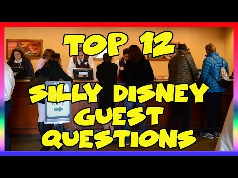 Top 12 Silly Disney Guest Questions (#5 is Crazy)  - Ep 111 Confessions of a Theme Park Worker