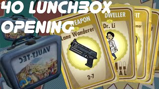 Opening 40 Lunchboxes in FALLOUT SHELTER iOS