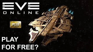 EVE Online - How to get a plex on a trial account?