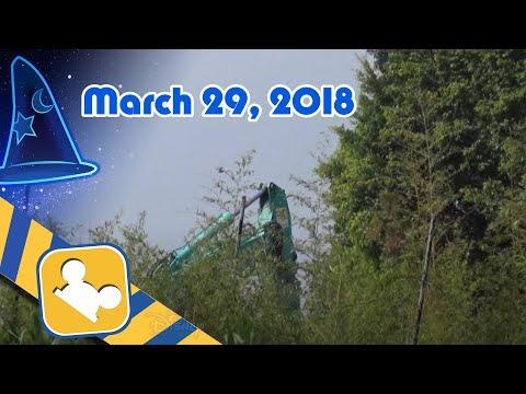 Construction Update:Frozen Land | Hong Kong Disneyland (March 29, 2018)