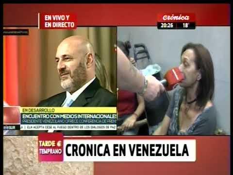 Crónica en Venezuela. Santiago Cúneo y el testimonio de la gente