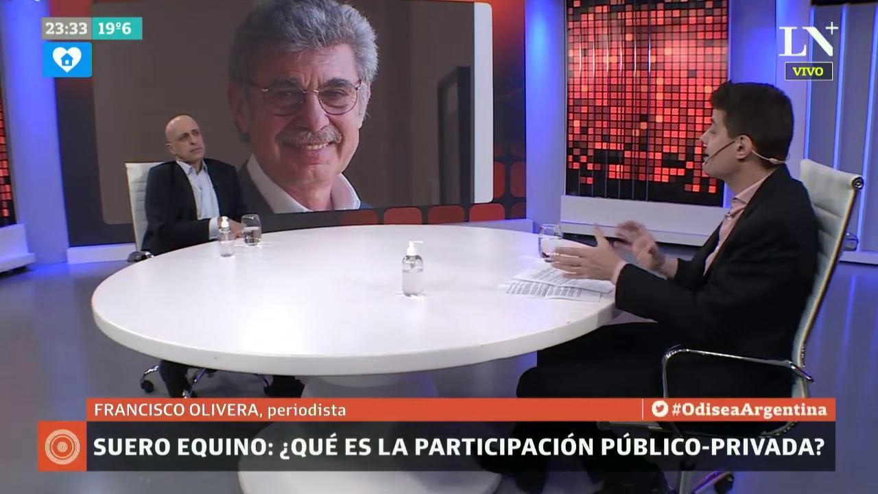 Suero equino: ¿qué es la participación público-privada? - Carlos Pagni con Francisco Olivera