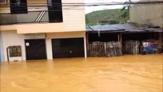 Rio Bananal - Chuvas de dezembro de 2013
