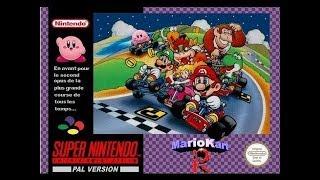 Super Mario Kart R - SNES ROM Hack (SNESGUY) Live Stream