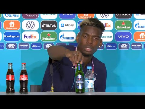 France 1-0 Germany - Paul Pogba - Man Of The Match Press Conference (Removes Heineken) - Euro 2020