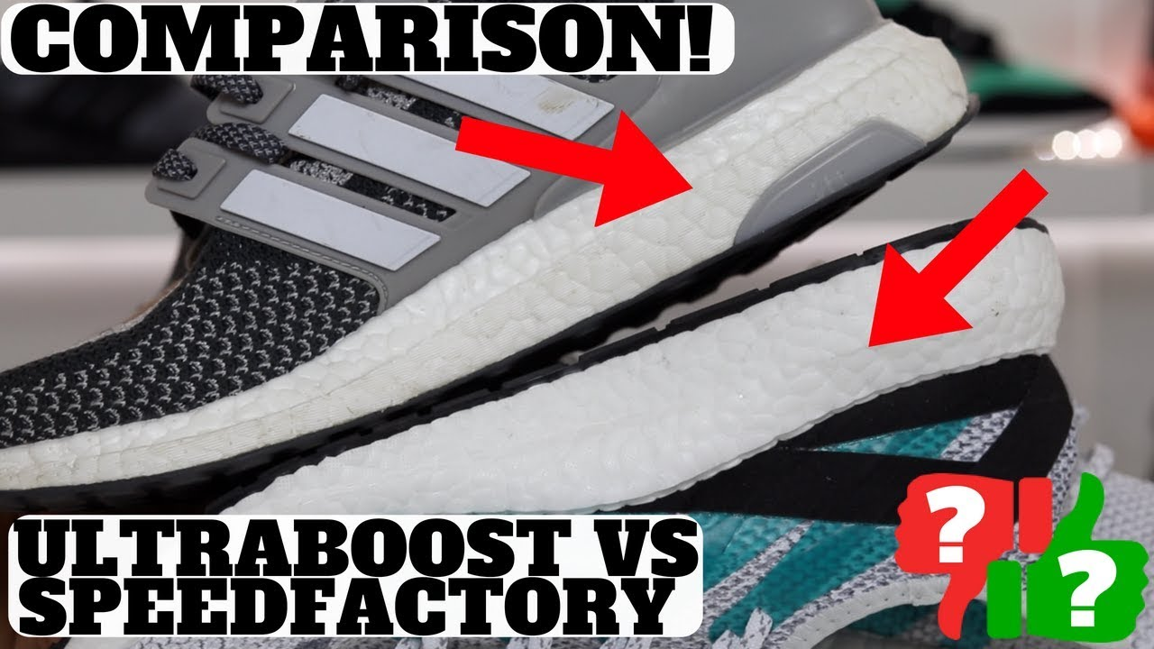 outlet store 75f8a 1b7a3 Which Is Better adidas ULTRABOOST vs SPEEDFACTORY AM4LDN