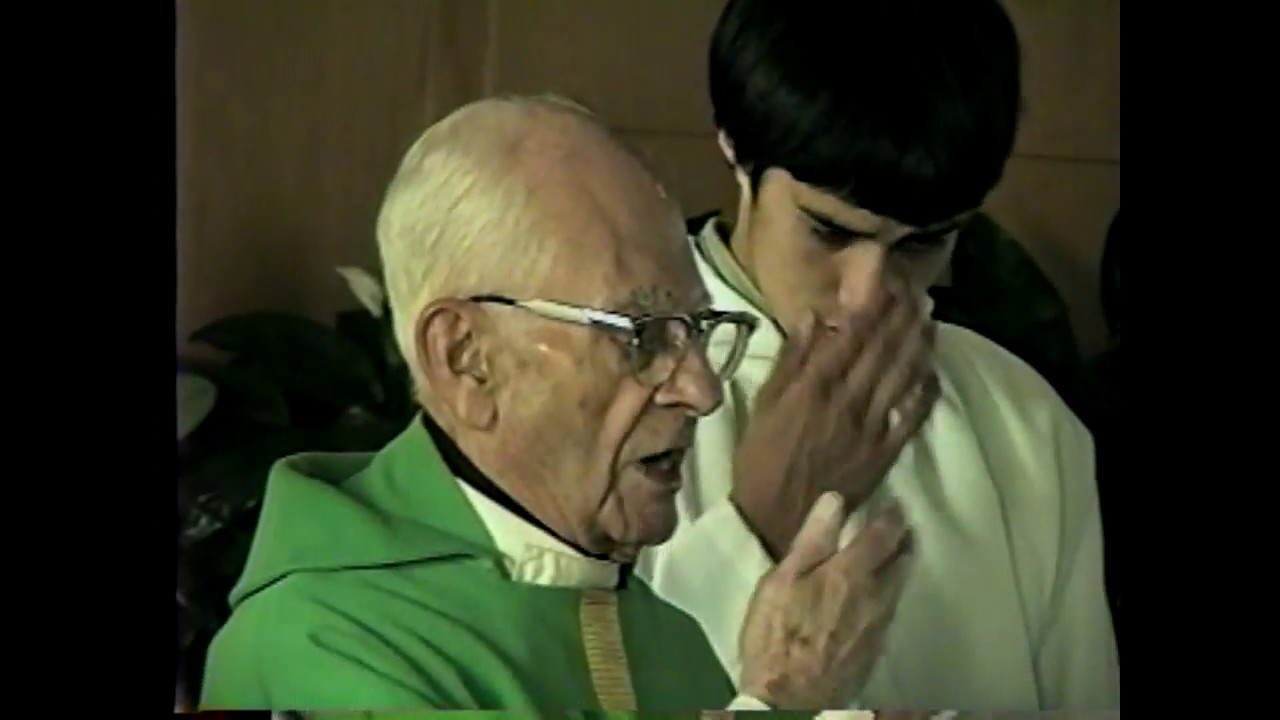 Fr. Cyril Rapin 50th Anniversary  10-27-96