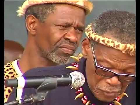 IFP leader Mangosuthu Buthelezi breaks down.. (Zulu)