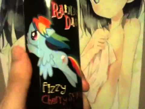 A Maniac Reviews Rainbow Dash Fizzy Cherry Splash Drink