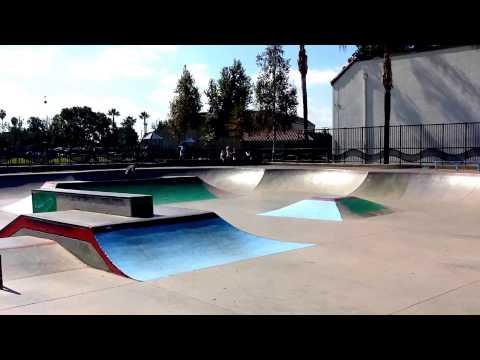 Tour of Fullerton Skatepark, Fullerton, CA