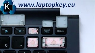How to install key in keyboard Samsung SAMSUNG NP900X4C NP900X4D NP900X4B NP900X3B NP900X3C NP900X3D