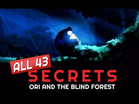 Ori and the Blind Forest - ALL SECRETS Location Guide - No Stone Unturned  Achievement