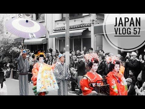JAPAN VLOG: GEISHA & STREET FOOD IN ASAKUSA!