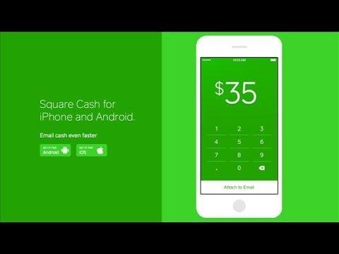 Money App Square Cash | Walt Mossberg Review - YouTube