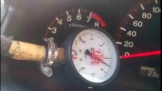 Замер давления топлива Honda Accord 7 2,4