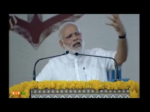 PM Narendra Modi lays foundation Stone for various projects of Kandla Port in Gandhidham, Gujarat