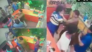 BJP leader Renu Devi's brother assaults chemist for not standing up | Viral Video | Oneindia News