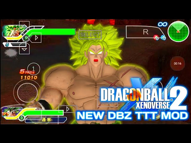 DOWNLOAD New Xenoverse 2 DBZ TTT MOD With New Broly And Heroes Goku MUI #1