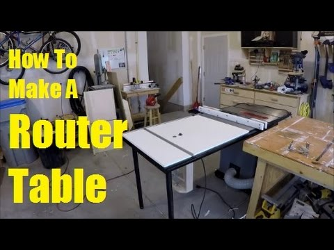 Easy Way To Make A Router Table Extension Wing Woodworking Tips