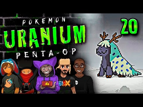 "Pokémon Uranium 5-Player Nuzlocke - Ep 20 ""MY D*CK TOUCH THE WATER"""