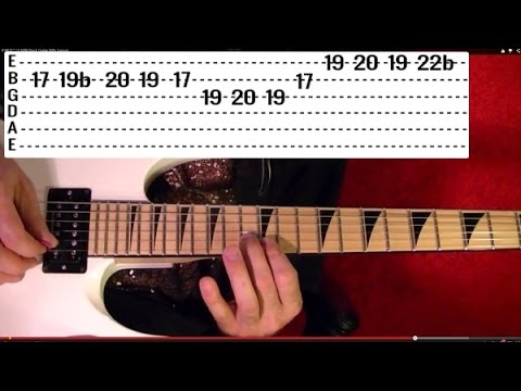 15 Popular Heavy Metal Riffs - Guitar Lesson