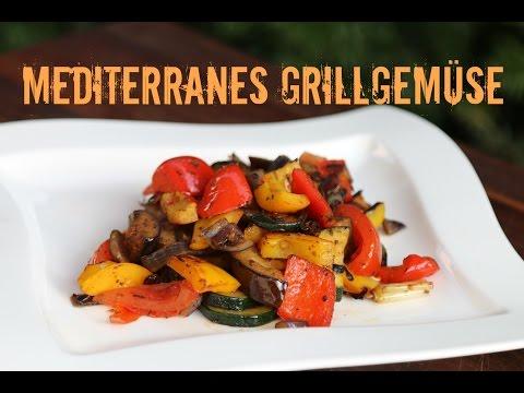 Mediterranes Grillgemüse -