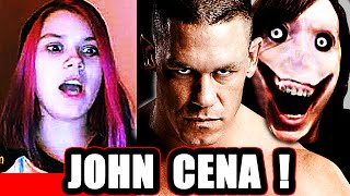 vuclip John Cena AND Jeff the Killer - Scary Prank on Omegle