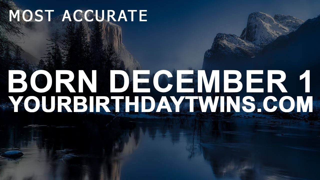 december 1 birthday astrology