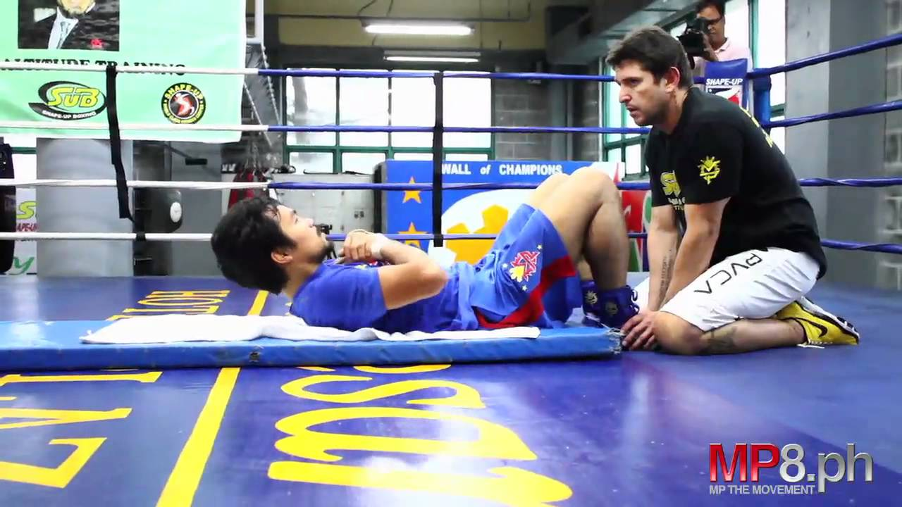 The Manny Pacquiao workout advise