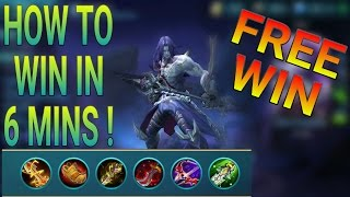 HOW TO MAKE THEM SURRENDER WHILE PLAYING MOSKOV MOBILE LEGENDS
