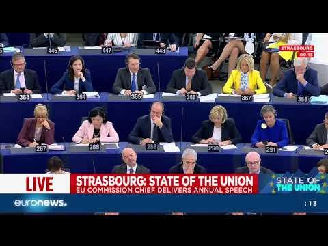 Evento live: lo Stato dell\'Unione con Juncker mercoledì 13 settembre
