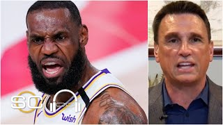Lakers dominate Rockets in Game 5, Legler says Houston wanted 'no part of it' | SC with SVP