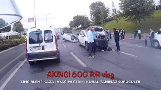 Traffic Violators - Run Over Through My Foot ! - Pileup Accident
