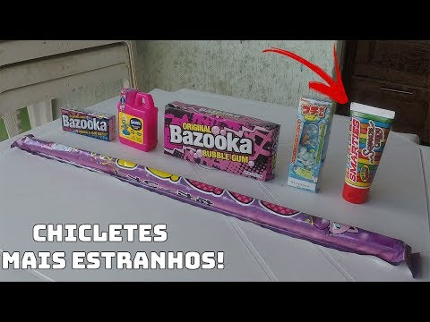 Save CHICLETES MAIS ESTRANHOS DA NOVA LOJA DE DOCES (CHICLETE EM TUBO DE PASTA DE DENTE) Pictures