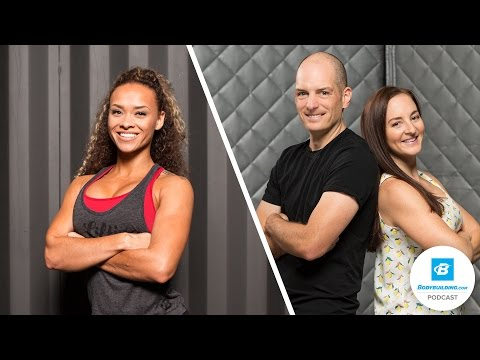 The Crazy Life of a Crazy-fit Couple | The Bodybuilding.com Podcast | Ep 2