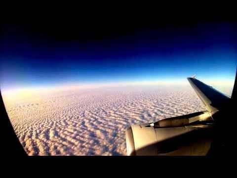 Timelapse GoPro SWISS Flight Zürich - London LX 326
