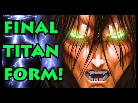 How Strong Is Eren's NEW Titan Form? (Attack On Titan / Shingeki No Kyojin New Eren Transformation)