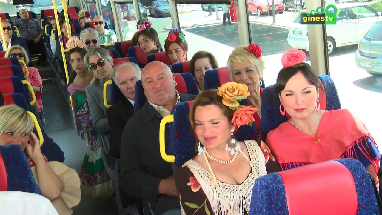 Gines vuelve a poner en marcha un servicio especial de autobuses a la Feria de Abril