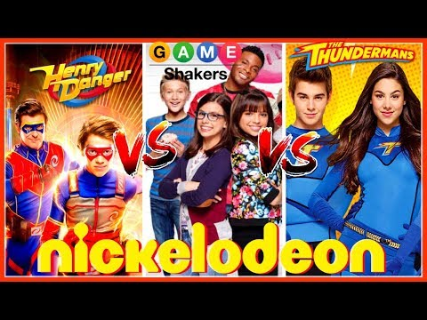 Henry Danger , Game Shakers , The Thundermans Battle | Top Nickelodeon Stars Musically 2017