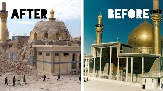 Top 10 Historical Places || Before and After Pictures