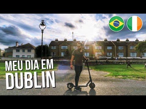 UM DIA DE UM BRASILEIRO EM DUBLIN - Edu Giansante