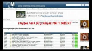 PAGINAS PARA DESCARGAR JUEGOS DE PS3
