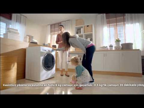 Ecem Özkaya Üstündağ | Vestel Kurutmalı Çamaşır Makinesi Reklamı
