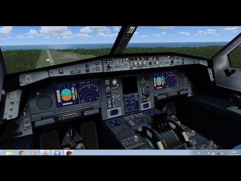 [FSX] A380 approach at Mauritius