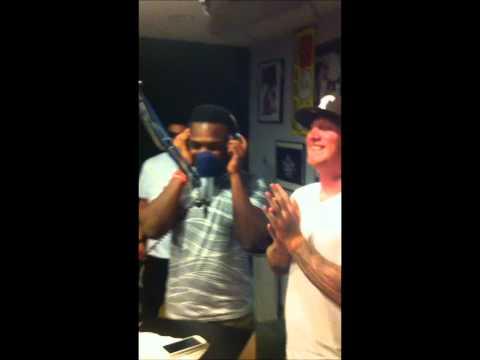 Antoine Banks Live on B93 Radio station in Odessa Tx!