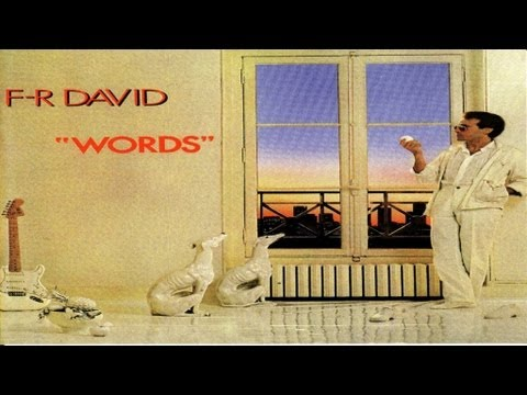 F.R. David - Words don't come easy - High Quality Official Music Video