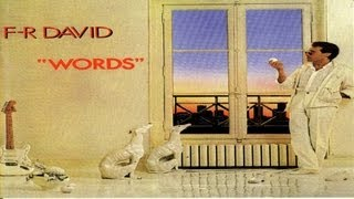 F.R. David - Words don