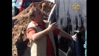 видео Правильная обмазочная гидроизоляция фундамента пошагово
