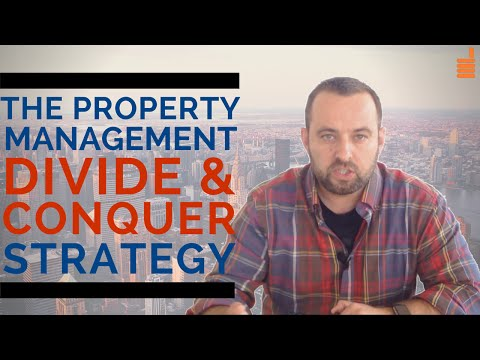 Property Management Marketing Ideas: The Divide & Conquer Strategy