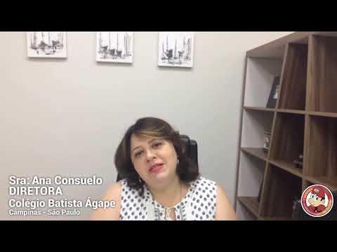 Mensagem da Diretora Ana Consuelo do Colégio Batista Ágape - Campinas/SP